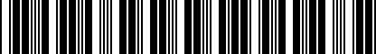 Barcode for DRG004863